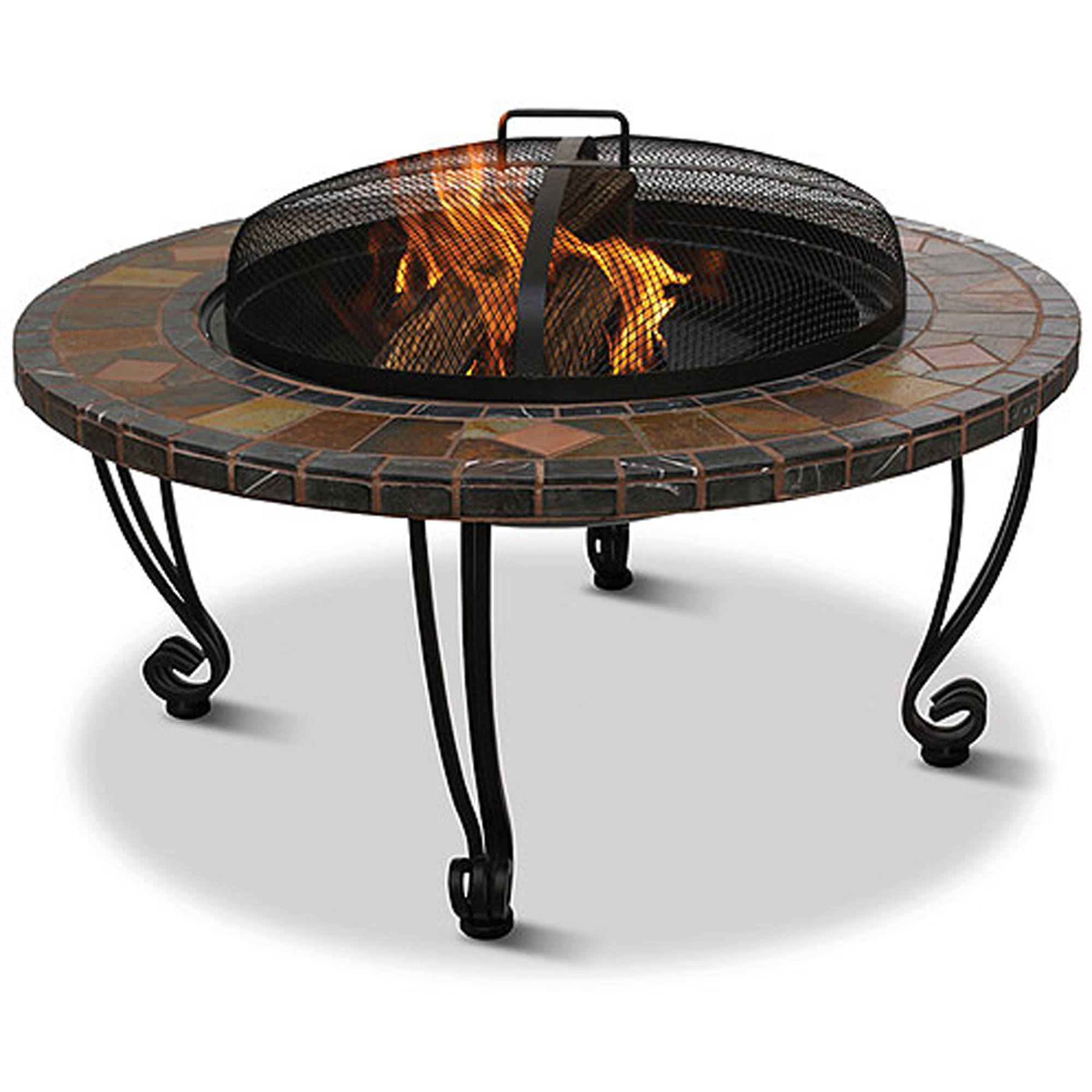 Genial Uniflame Slate And Marble Fire Pit   Walmart.com