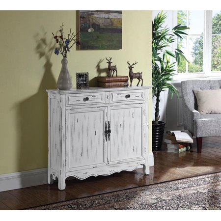 French Country Antique White Accent Cabinet French Accents Antiques