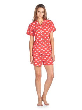 d62848b04a Product Image BHPJ By Bedhead Pajamas Women s Soft Knit Short Sleeve Pajama  Shorts Set