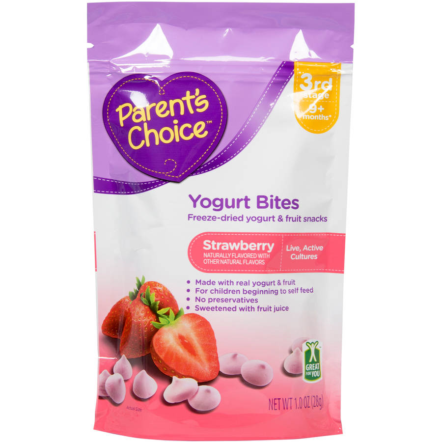 Parent's Choice Strawberry Yogurt Bites, 1 oz