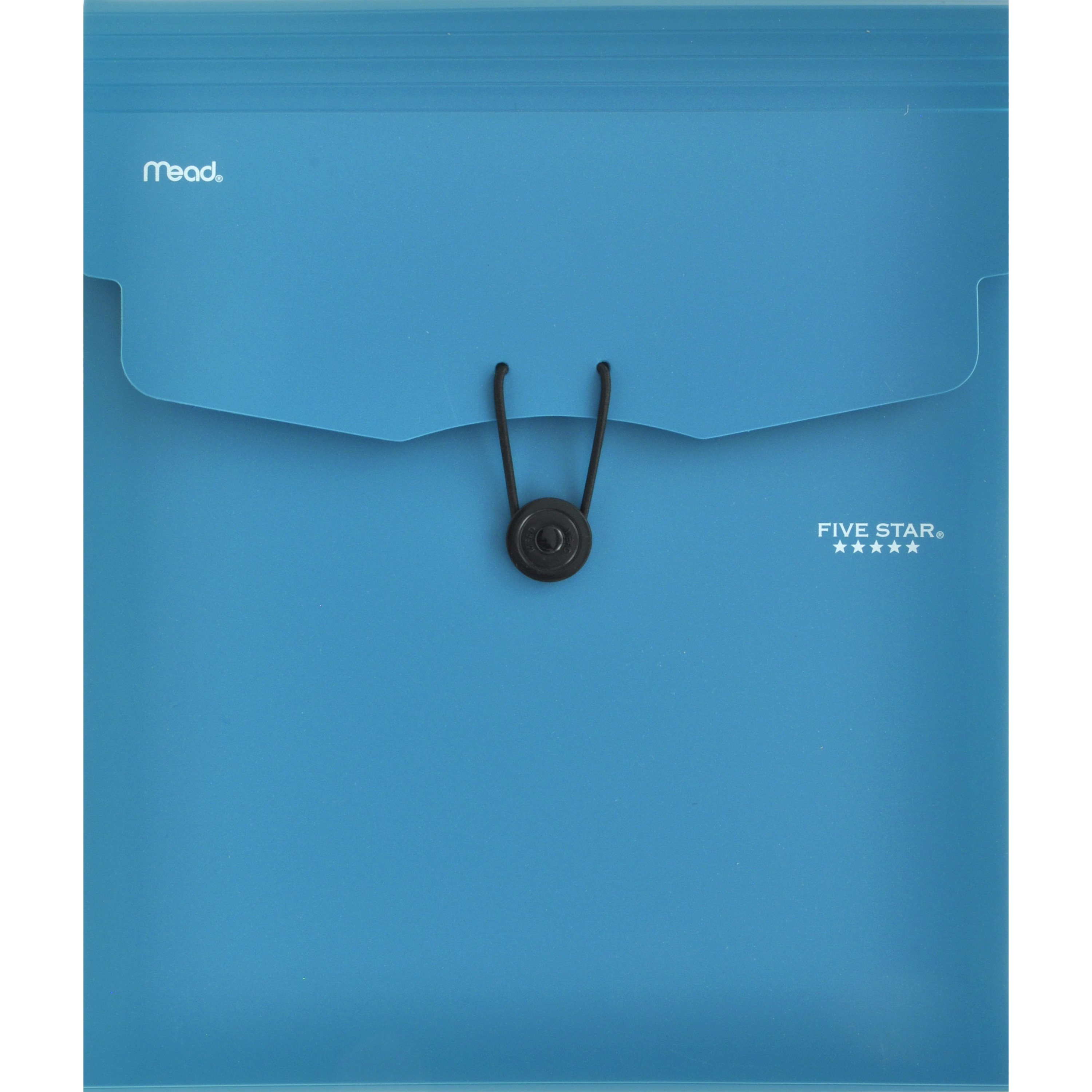 """Five Star 5-Pocket Expanding File with Removable Files, 12 1/4"""" x 10 1/4"""", Teal"""