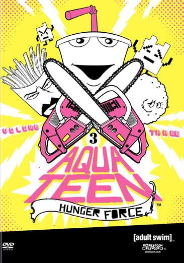 Aqua Teen Hunger Force, Vol. 3 (Full Frame) by Turner Home Entertainment