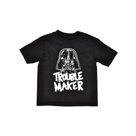 Toddler Boys Darth Vader Star Wars T-Shirt Black - Toddler Darth Vader