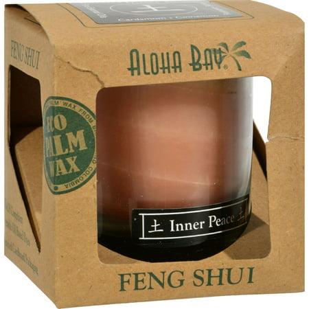 Bay Aloha Feng Shui Elements Palm cire de bougie - Terre / paix intérieure - 2,5 oz - image 1 de 1