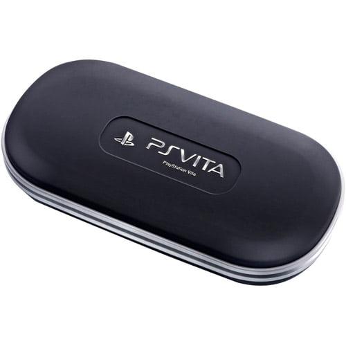 Guillemot Thrustmaster V.I.P. Case for PlayStation Vita, Black and Silver (PS Vita)