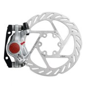 Avid BB5 Road Disc Brake Caliper & 160mm G2CS Rotor Platinum Front/Rear