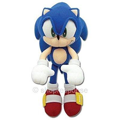 Ai Sonic The Hedgehog Sonic Plush Doll Key Chain Coin Bag Clip On 8 Soft Plush By Ai Walmart Com Walmart Com