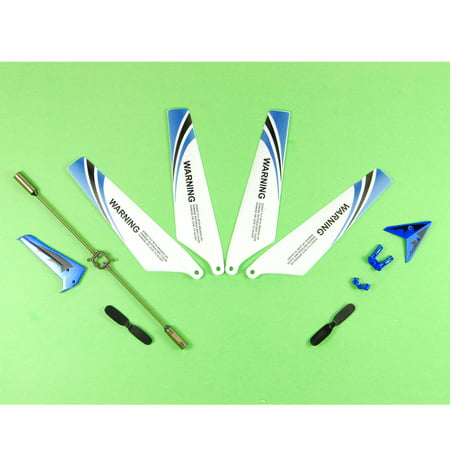 Helicopter Blade Balancer (4PCS Main Blades Propellers Spare Part Set Helicopter Drone For Syma)