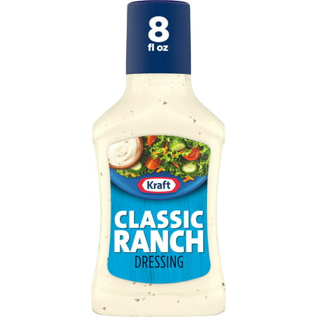Kraft Classic Ranch Dressing, 8 fl oz Bottle