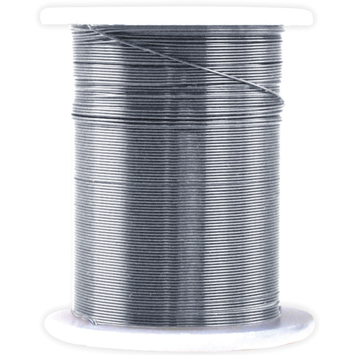 Metallic Beading & Jewelry Wire 28 Gauge 32/Pkg -Silver
