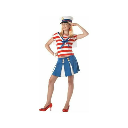 Cute Shih Tzu Halloween Costumes (Teen Cruise Ship Cutie Sailor)