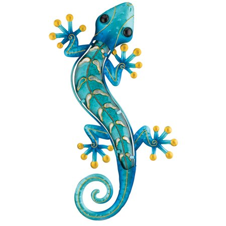 Gecko Wall Hanging (Regal Gecko Wall Decor 18