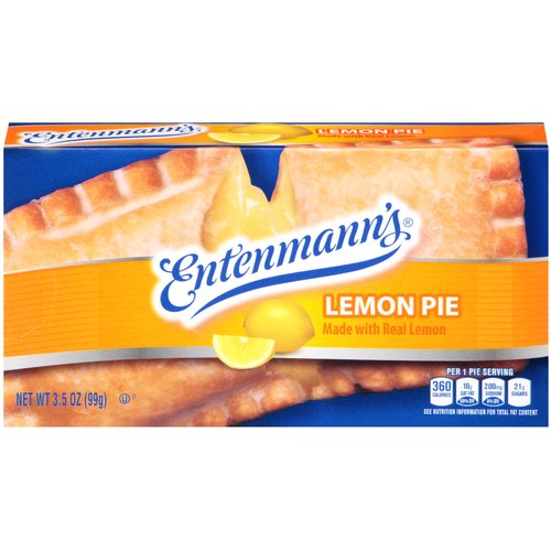 Entenmann's Lemon Pie, 3.5 oz