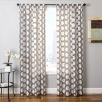 Mainstays Milan Stripe Print Curtain Panel Set Of 2