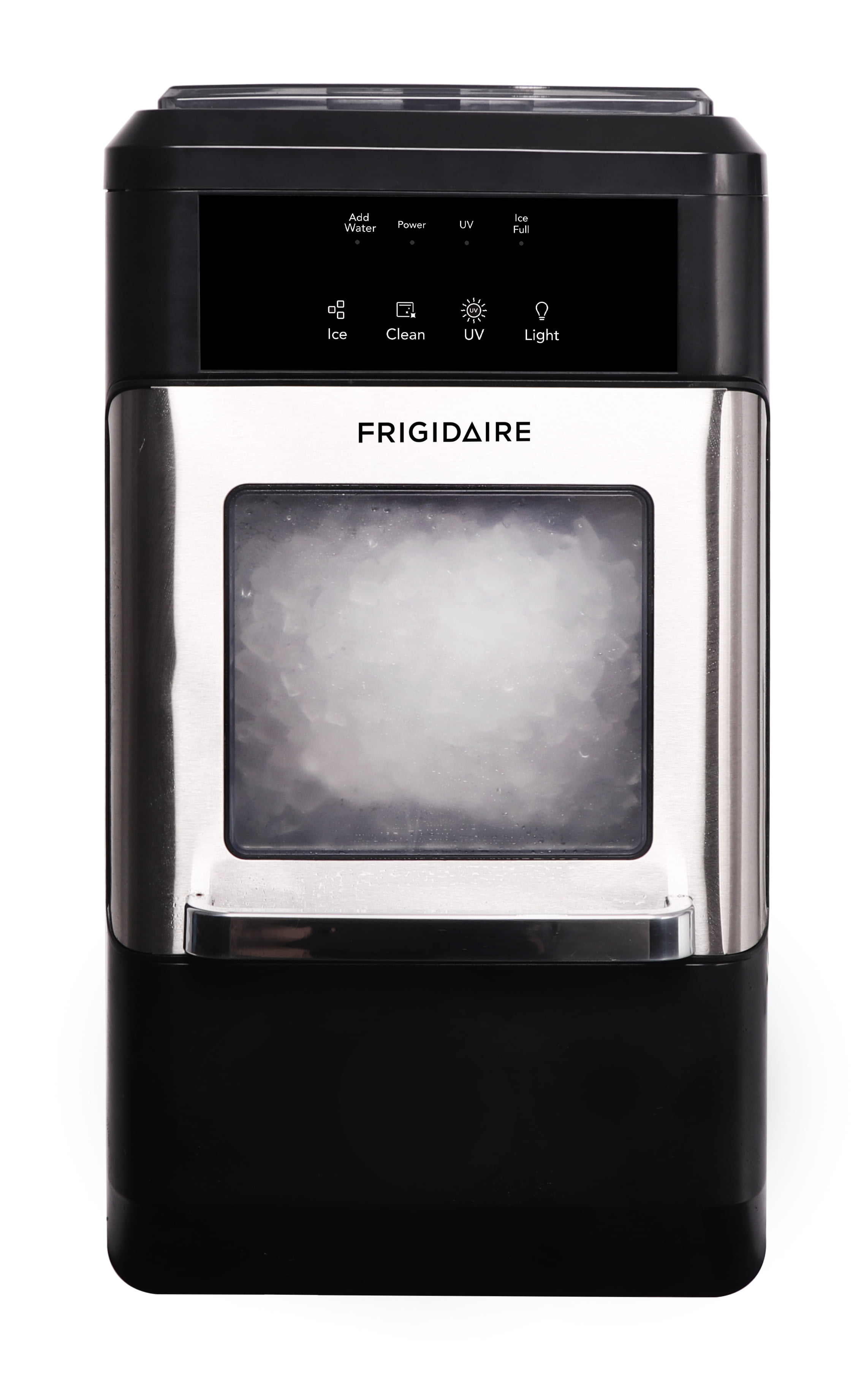 Frigidaire 44 Lbs Crunchy Chewable Nugget Ice Maker Efic235 Stainless Steel Walmart Com Walmart Com