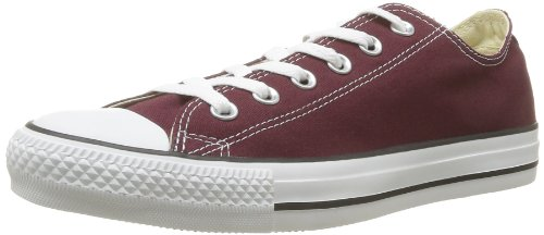 Converse 139794F: Chuck Taylor All Star Ox Unisex Sneakers Burgundy by Converse Inc.