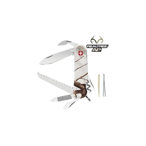 Wenger Realtree AP Snow 13 Swiss Army Knife, White Camo