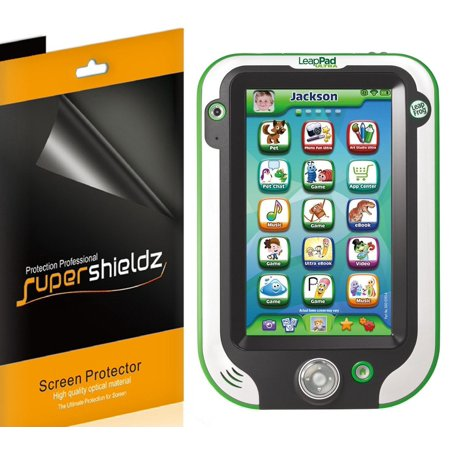 [3-Pack] Supershieldz for LeapFrog LeapPad Ultra 7 Screen Protector, Anti-Bubble High Definition (HD) Clear Shield (Leappad Screen Replacement)