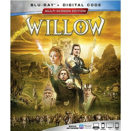 Willow (Blu-ray + Digital Code) (Halloween Movies Coupon Code)