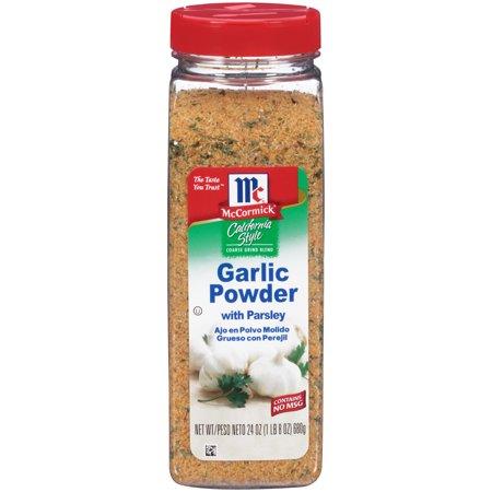 Powder Coating California - McCormick California Style Garlic Powder With Parsley Coarse Grind Blend, 24 oz