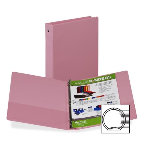Samsill Flexible Hinge 3-Ring Storage Binders -SAM11393