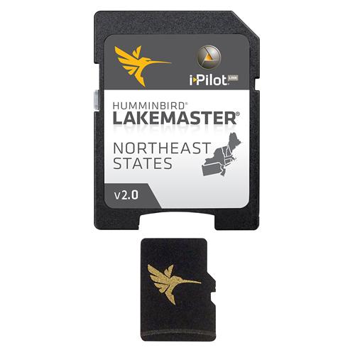 Humminbird LakeMaster Northeast Edition Version 2 i-Pilot Link Map Card 600045-3