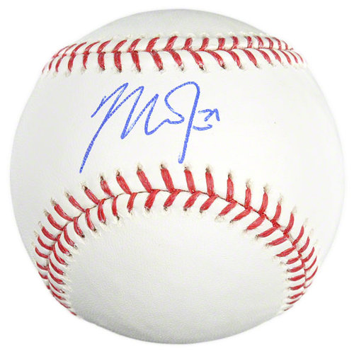 MLB - Mike Trout Autographed Baseball