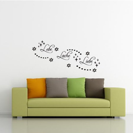 German Pattern Mural Art Wall Sticker Living Room Bedroom Decor Decal 56x66cm - image 5 de 8