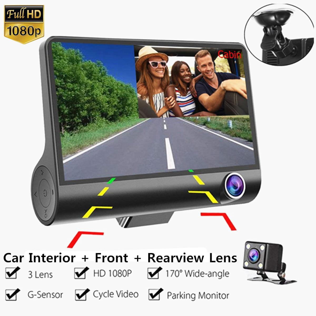 License Plate Car Back Up Camera Safety System Full Color 170 Degree