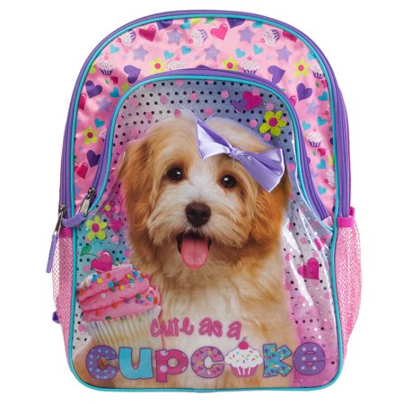 1308680f8c1f Underrated - 16 Girls Backpack Glitter Cute Baby Animal School Travel Kids  Small 3D Book Bag - Walmart.com