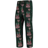 Milwaukee Bucks UNK Plush Team Lounge Pants - Green