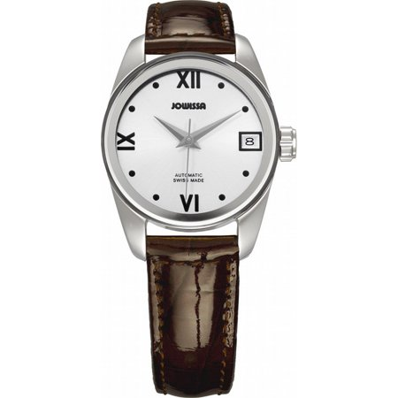 (Jowissa Women's J4.054.M Monte Carlo Automatic Brown Leather Date Watch)