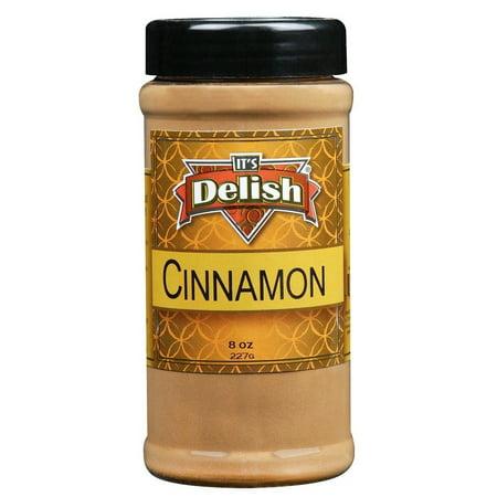 (2 Pack) Ground Cinnamon by Its Delish, 8 oz Medium - Whole Ground