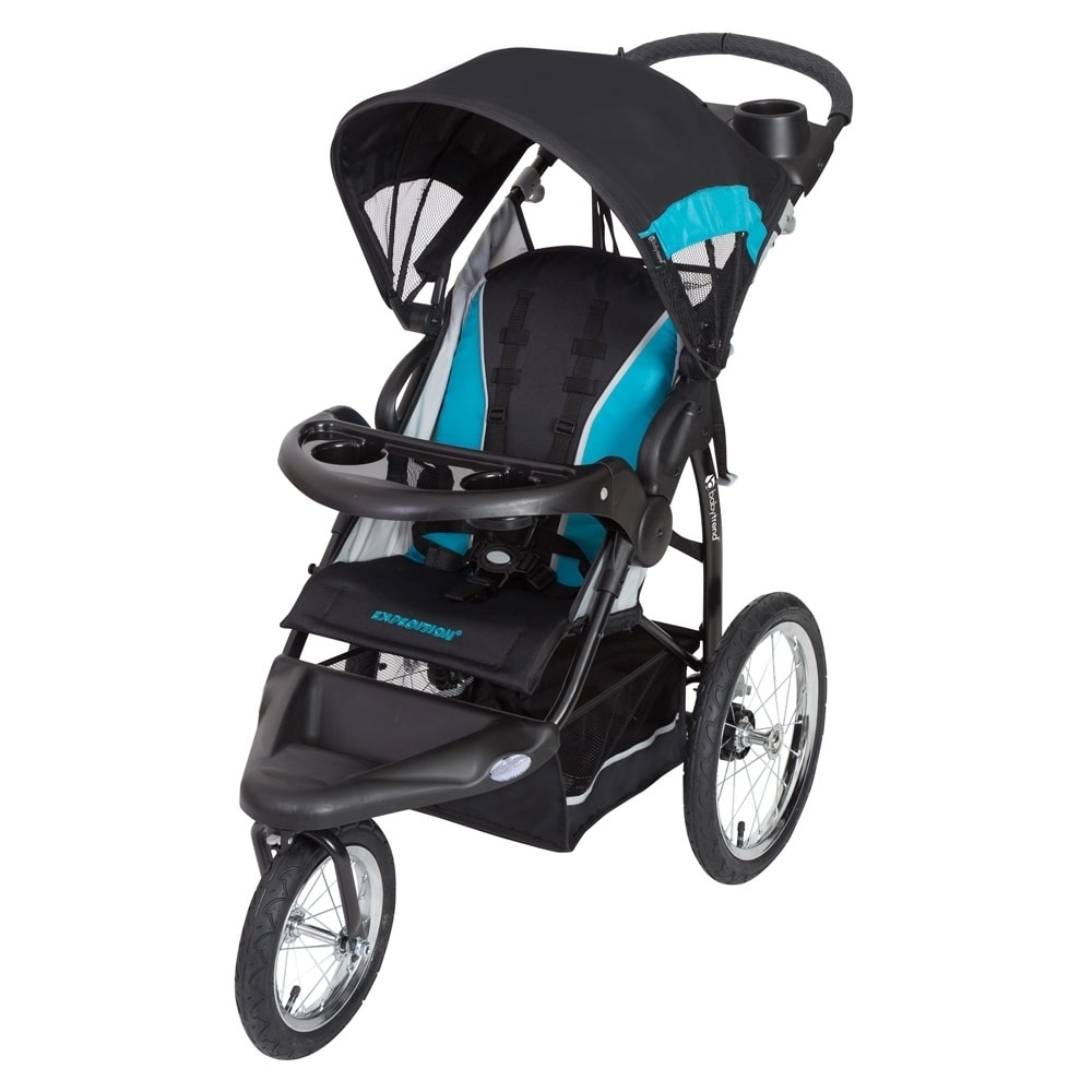 Baby Trend Expedition RG Jogger Stroller, Topaz, Blue