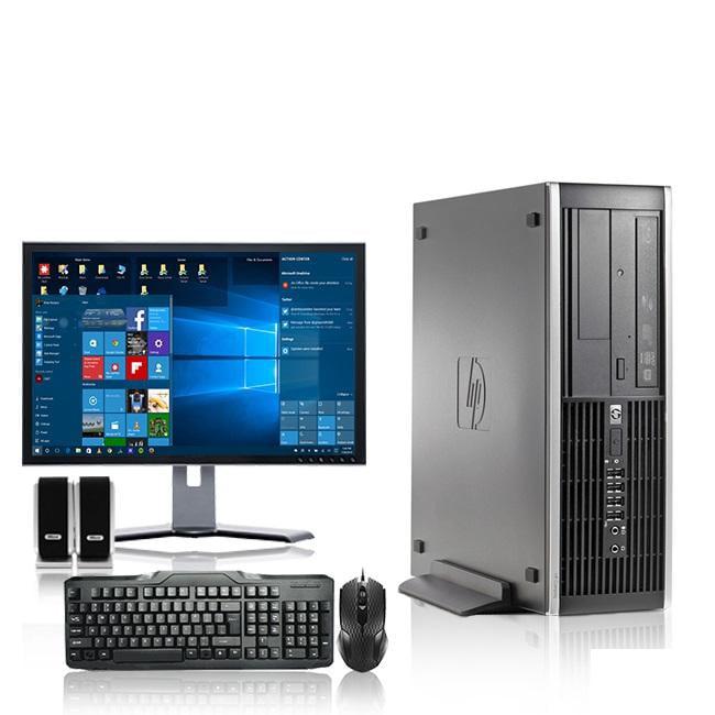 HP DC Desktop Computer 2.3 GHz Core 2 Duo Tower PC, 4GB RAM, 500 GB HDD, Windows 10