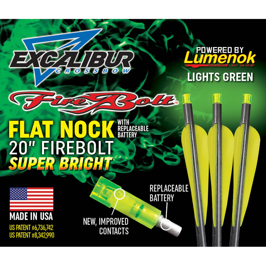 "20"" Firebolt with Lumenok Flat Bolt End thumbnail"