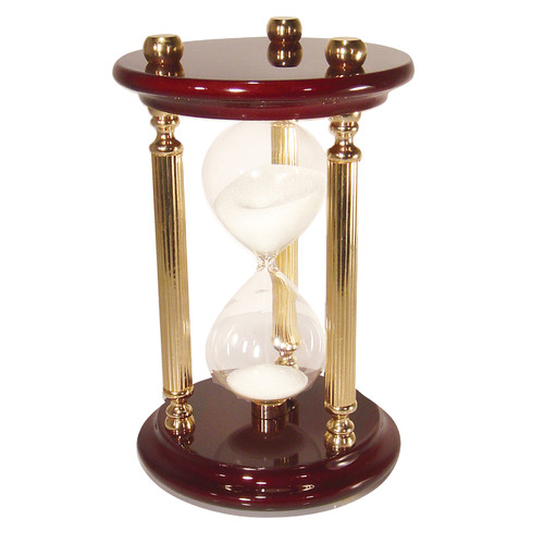 River City Clocks 15 Minute Sand Timer Hourglass