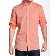 John Varvatos NEW Pink Mens Size Small S Button-Front Pocket Shirt