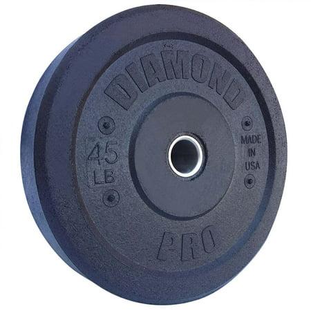 Diamond Training - Diamond Pro 45 lb Crumb Bumper Plate Single