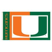 NCAA Miami Hurricanes 3' x 5' Flag