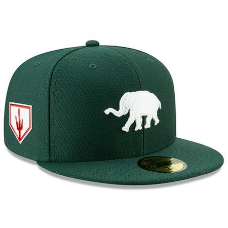 voorbeeld van verkoopprijzen schattig Oakland Athletics New Era 2019 Spring Training 59FIFTY Fitted Hat - Green