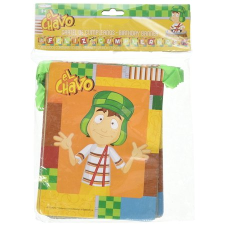 El Chavo del Ocho Party Jointed Banner Favor Happy Birthday Decoration Supplies By Granmark