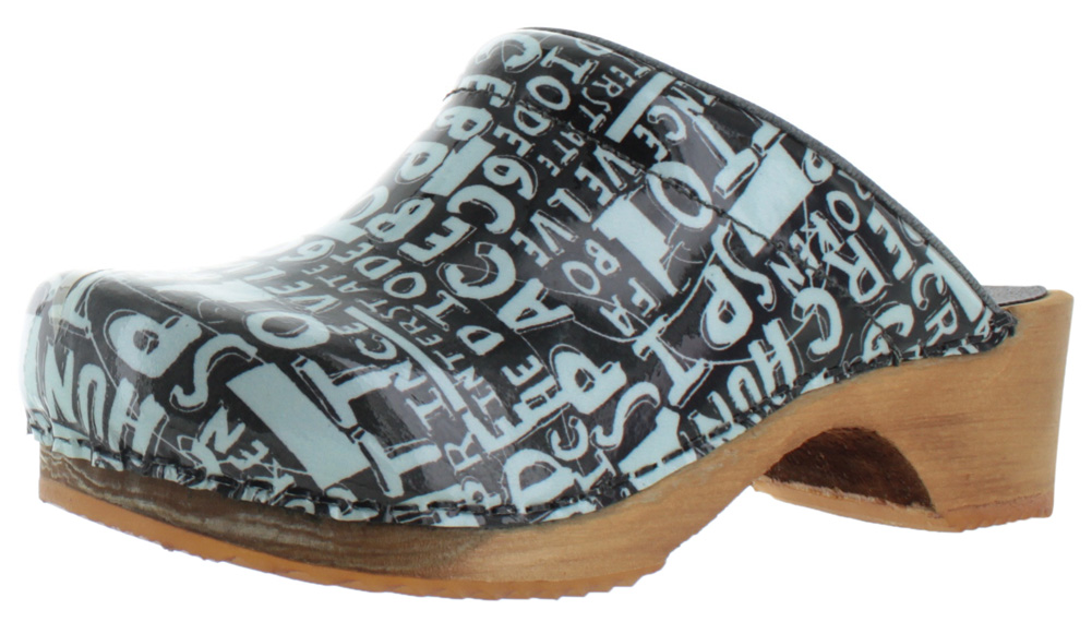 Sanita Word Womenu0027s Wood Open Back Leather Mule Clogs Shoes Kitchen Chef    Walmart.com