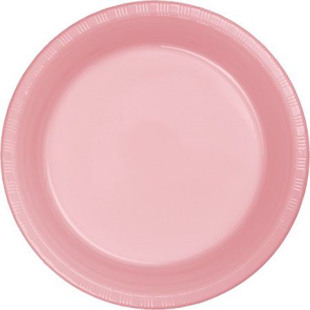 Touch of Color Plastic Lunch Plate, 7