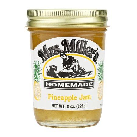 Mrs. Miller's Pineapple Jam 8 oz. (2 Jars) (Pineapple Jam)