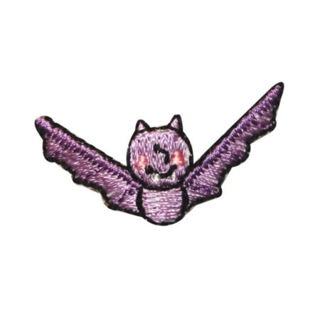 ID 0926C Cute Bat Fly Patch Halloween Kids Craft Embroidered Iron On Applique - Bat Halloween Craft