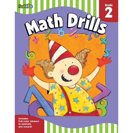Math Drills: Grade 2 (Flash Skills)