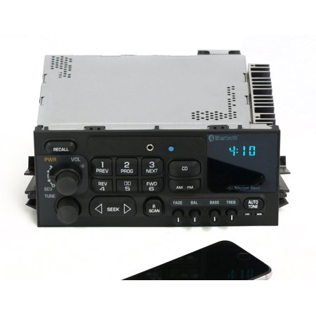 New 95-05 GMC Chevy Truck Van AM FM Radio Aux Input & Bluetooth CD Controls ()