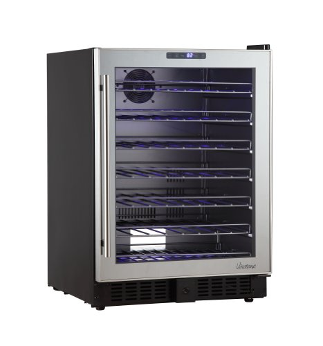 Vinotemp Vtbc54tssml Mirrored Touch Screen Beverage Cooler