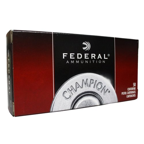 Federal Champion 9mm Full Metal Jacket Rounds